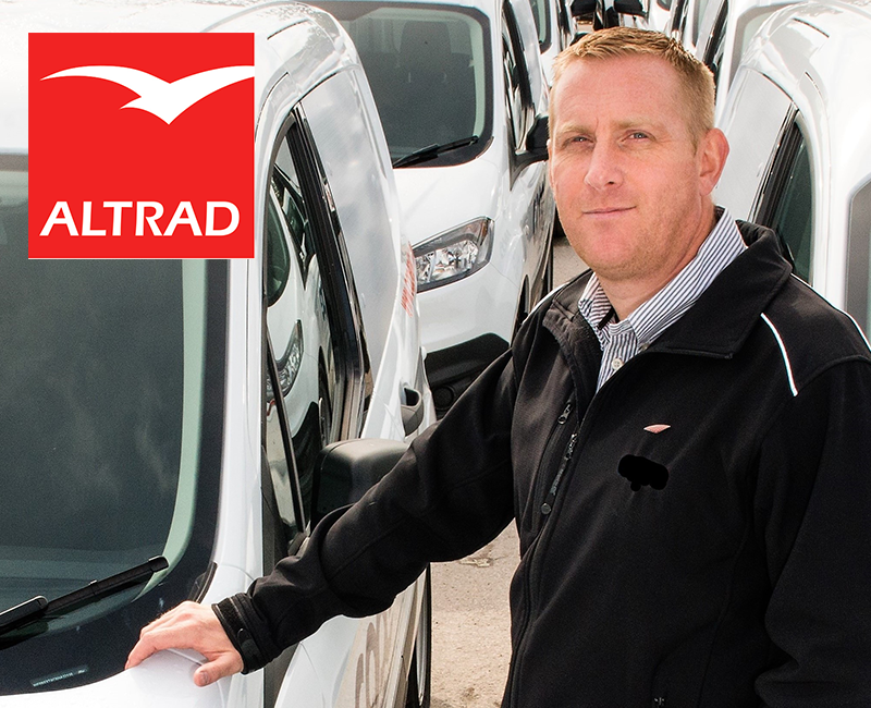Trakm8 provide vehicle tracking and driver behaviour solution for Altrad