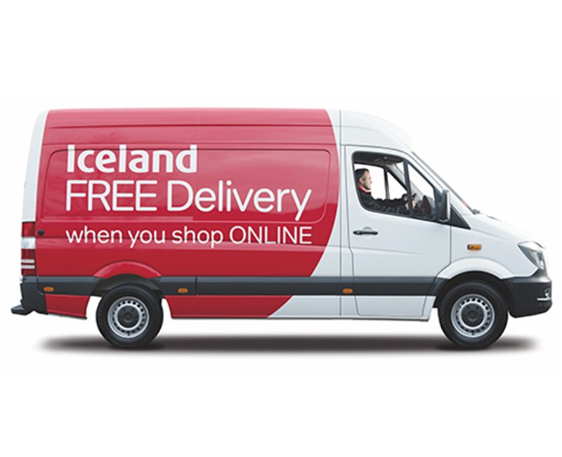 iceland delivery vehicle