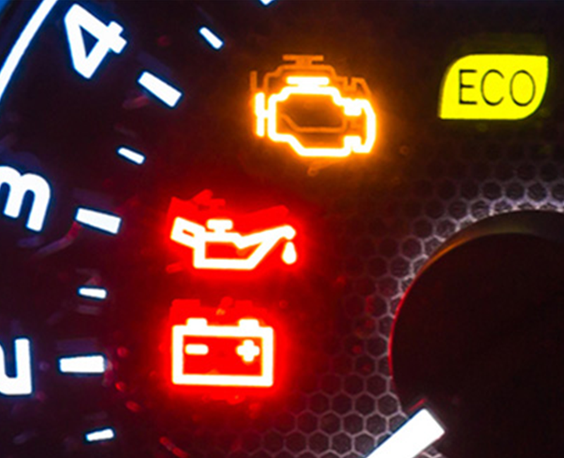 vehicle dash lights