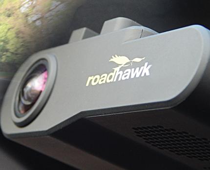 Trakm8 Roadhawk mounted dash cams