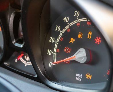Vehicle dashboard warning lights