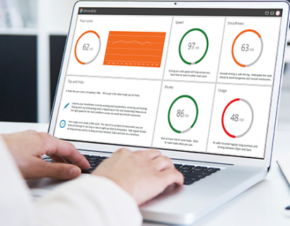 configure your own dashboards with driveably software