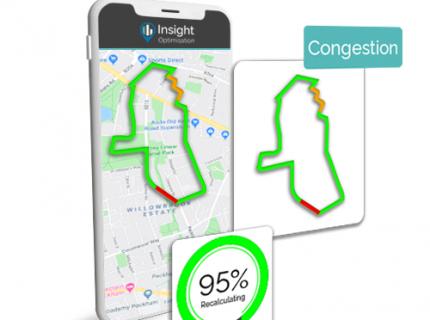 trakm8 insight software provides intelligent mapping